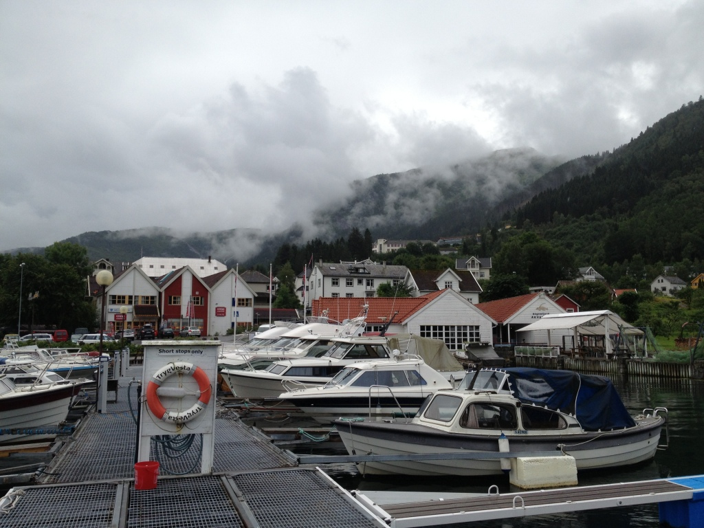 Balestrand. A small village in the Fjords