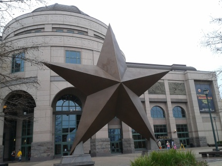 Bullock Texas State History Museum. So much to learn!