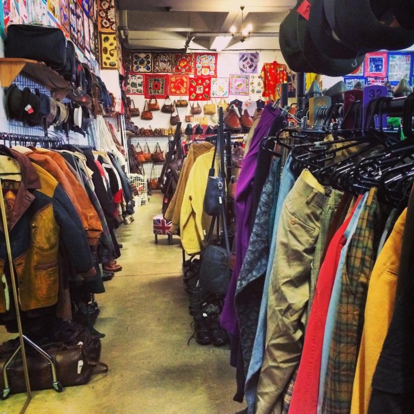 Vintage Shopping in Brick Lane
