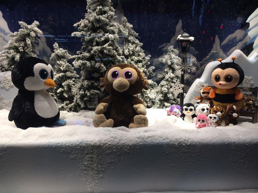 Hamleys Christmas Display