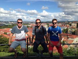 Lookout in Gothenburg, Sweden.