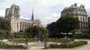 View of Notre Dame