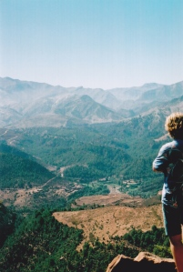 High up in the Atlas Mountains