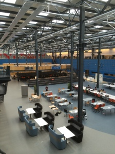 Inside the Industrial Design Engineering building