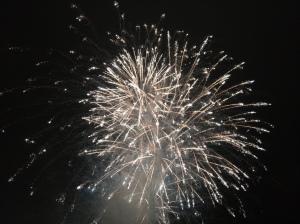 San Sebastian fireworks during the festival season!