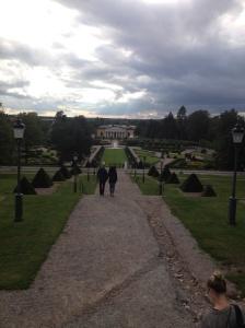 View of the Botanic Gardens.