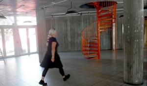 Triangeln Entrance foyer_KTH Arkitekturskolan