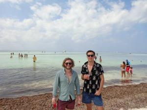On the beach in Cuba, a chance to defrost