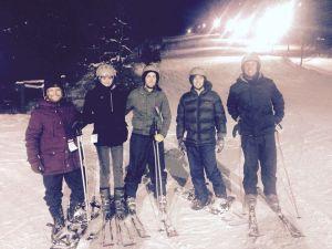Skiing at Kissing Bridge in the USA