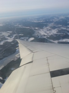 My first view of Stockholm