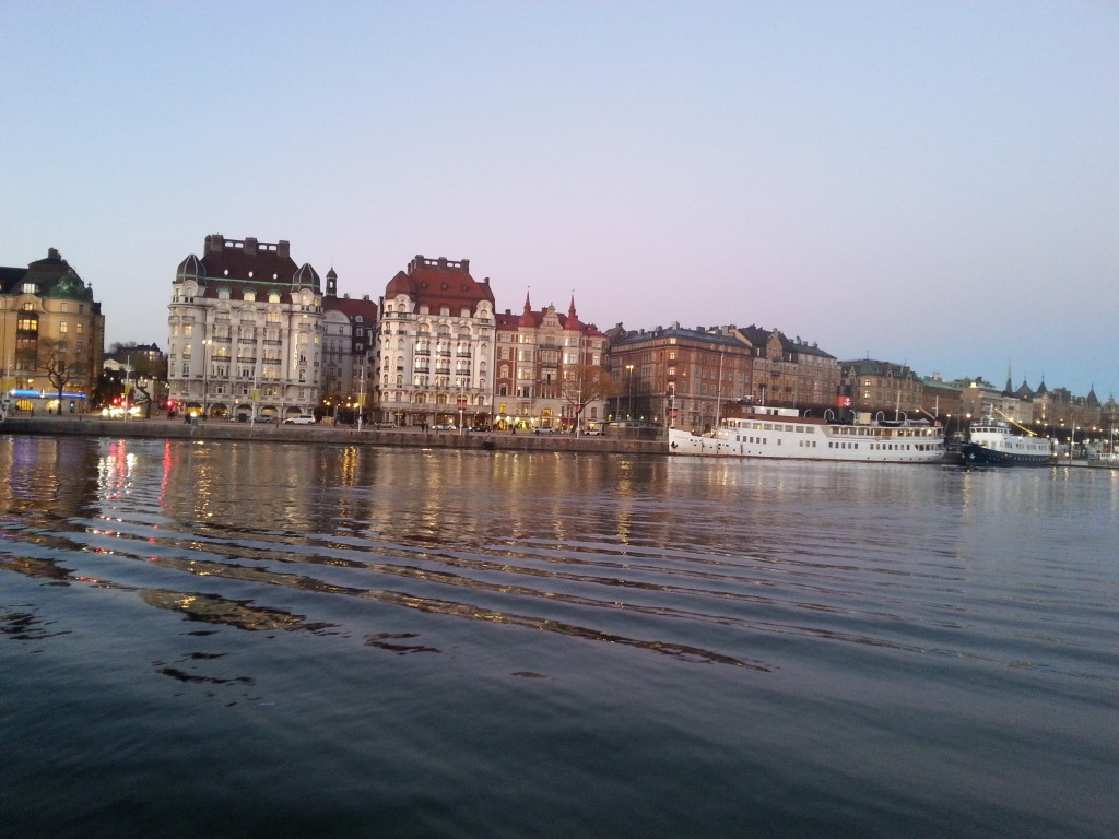 Stockholm over the water :)