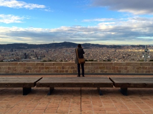 The City from Montjuic