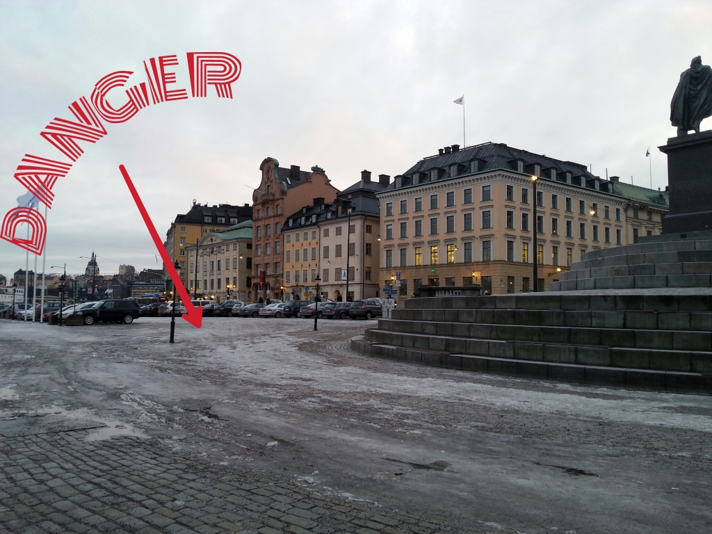 The most dangerous part of Stockholm, the ice. Something that no one really tells you about...