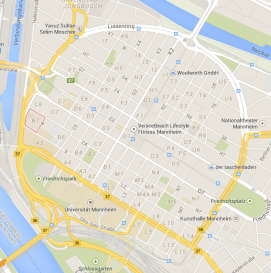 Mannheim quadrate