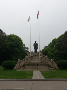 SYSU Sun Yat-sen statue