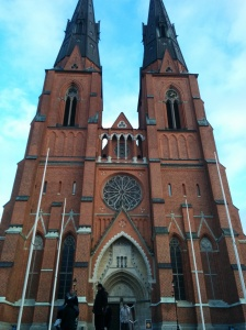 Insert mandatory, cliche photo of Uppsala Domkyrkan here.