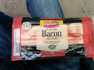 Yes, this is Swedish bacon, your new staple diet.