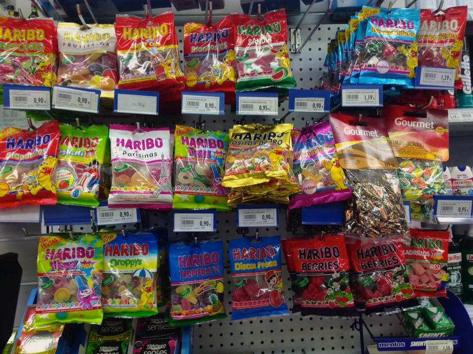 Haribo selection
