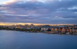 View from the highest natural point in Stockholm