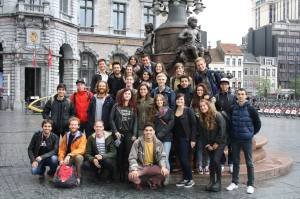 The group who went to Antwerp.