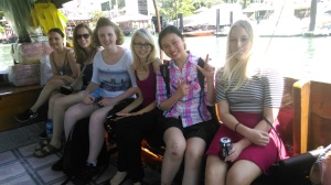Sampan boat ride