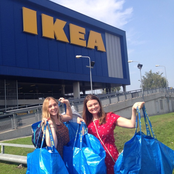 Uni trip to Ikea for all the essentials