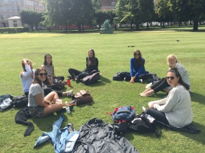 Park lunches are the best on an exchange budget!