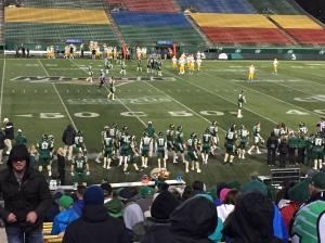 Regina Rams vs Alberta Golden Bears