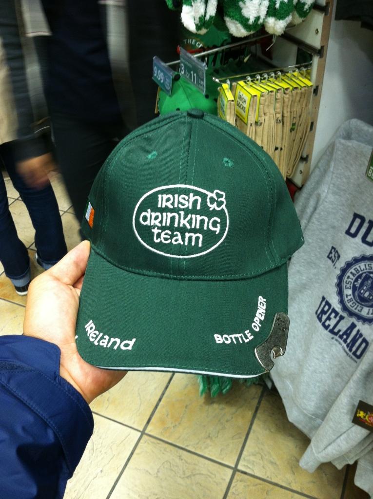 Irish Drinking Cap!
