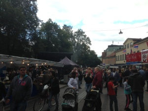 A music festival within Uppsala, where musicians of all ages perform on stage.