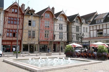 Troyes-France-Old-Town