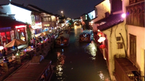 "Suzhou Watertown ""China's Venice"" – Night life"