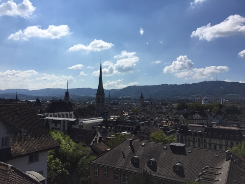 The enchanting city of Zürich