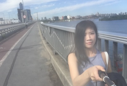 The Han River! its sunny.