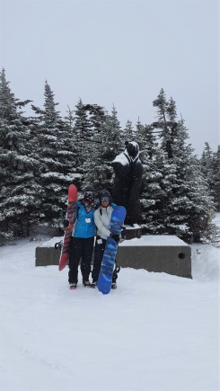 5 Snowboarding