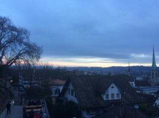 Sunset at UZH