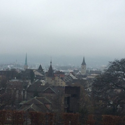 View from my German classroom