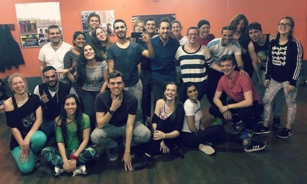 Bachata and Salsa dance class