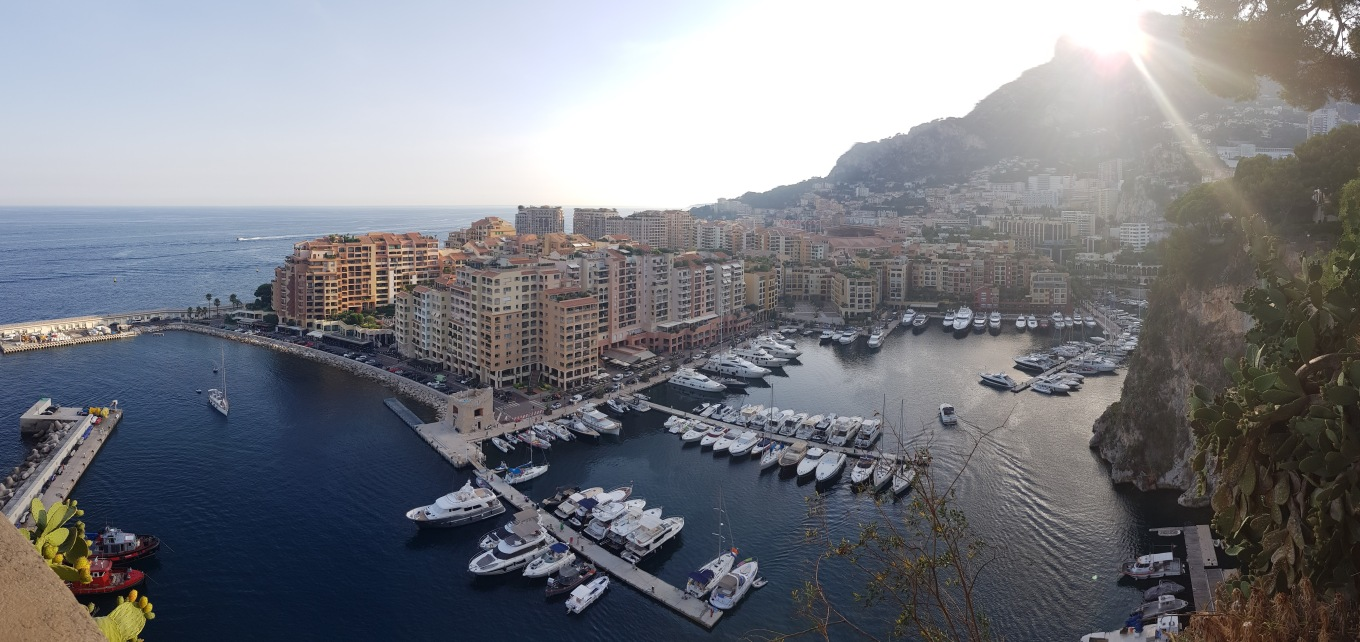 A beautiful view looking over Monaco, France. It was one of the most surreal places I visited