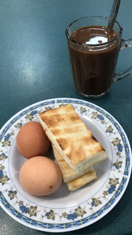 Classic Breakfast @NTU Canteen