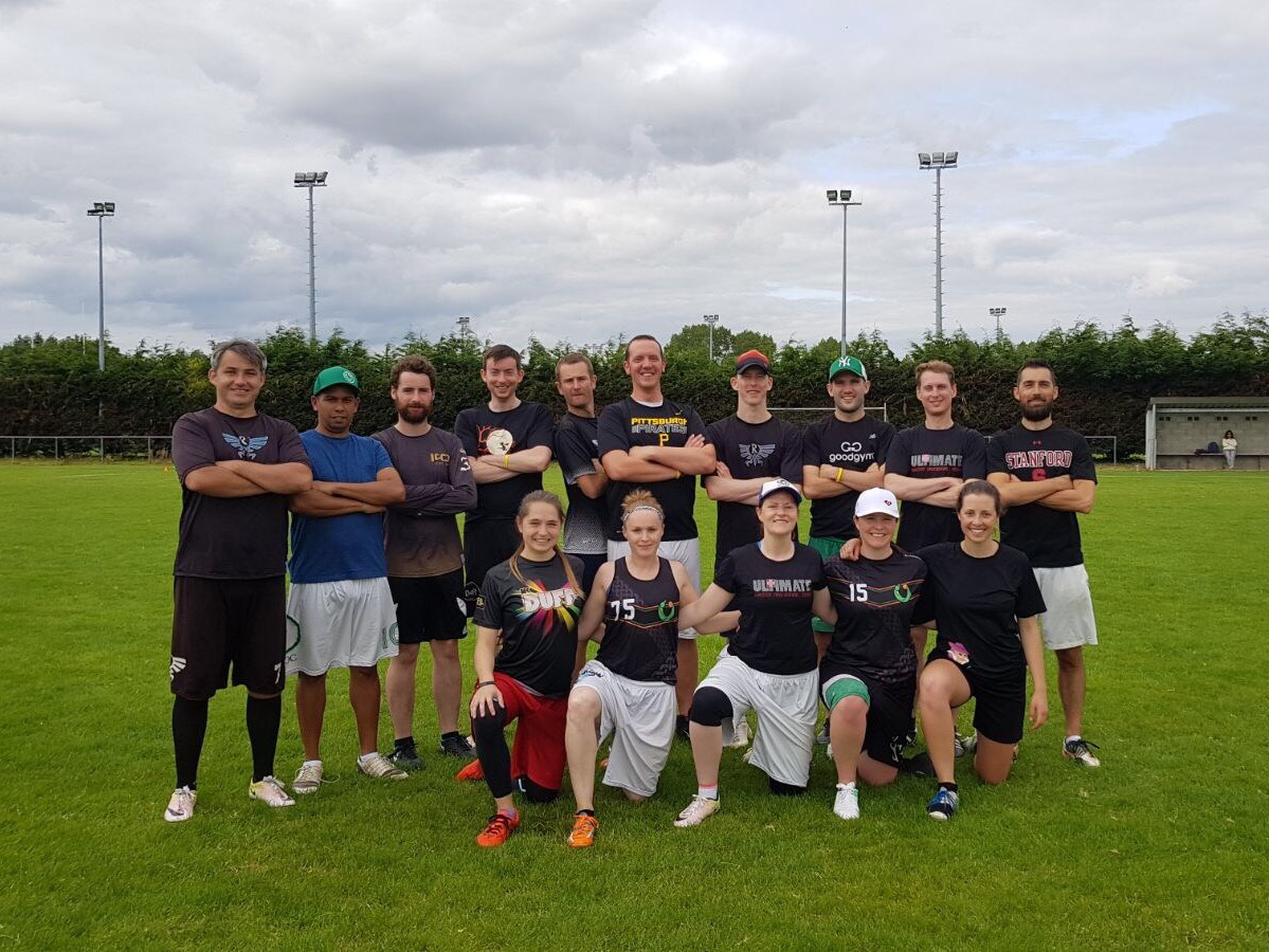 Masterclass - The team I played with at the Dublin Golden Cup 2017